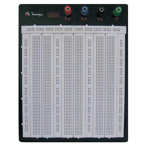 MINIPA PROTO BOARD MP-2420A – 2420 FUROS, 4 BORNES