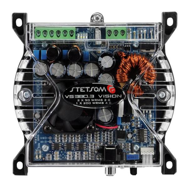 AMPLIFICADOR DIGITAL STETSOM VS380.3 VISION