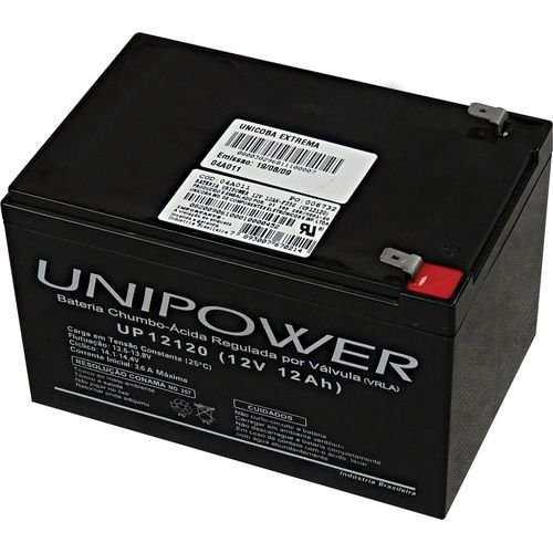 UNIPOWER BATERIA 12V 12A  UP12120 2
