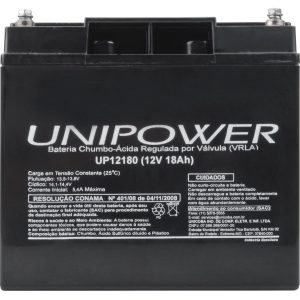 BATERIA SELADA UNIPOWER UP12180 – 12V, 18A