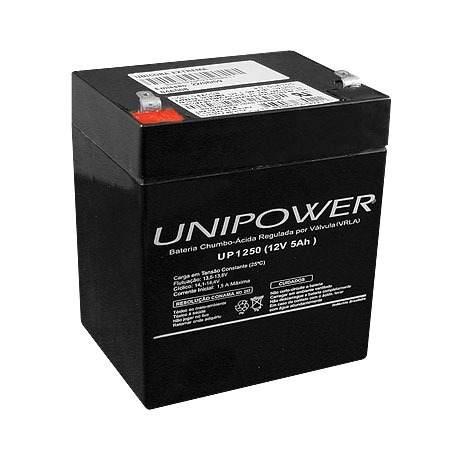 BATERIA SELADA UNIPOWER UP1250 – 12V, 5A