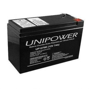 BATERIA SELADA UNIPOWER UP1270E – 12V, 7A