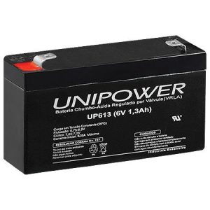 BATERIA SELADA UNIPOWER UP613 – 6V, 1,3A
