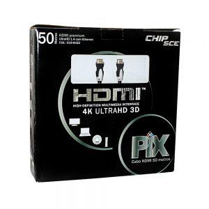 CABO HDMI 50 METROS – 1.4, ULTRAHD, COM FILTRO