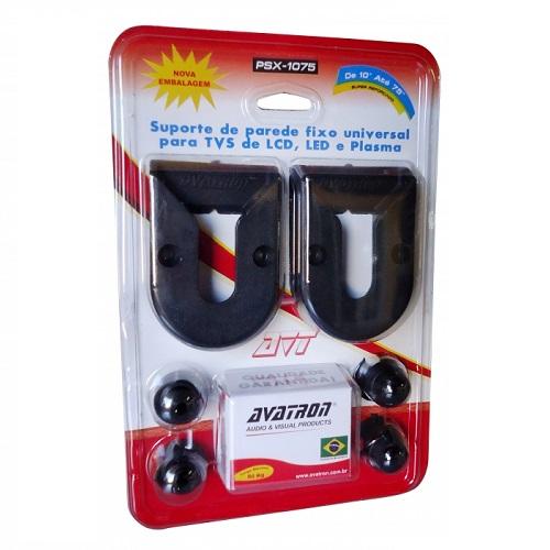 SUPORTE PARA TV AVATRON PSX-1075 – 10 A 75 POLEGADAS, FIXO