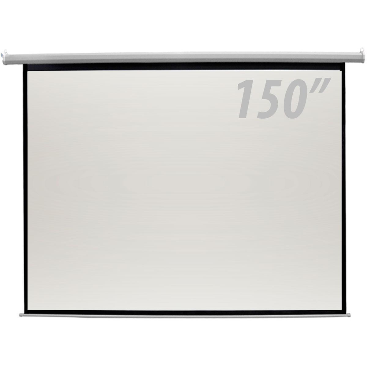 TELA DE PROJEÇÃO ELÉTRICA CSR 150 POLEGADAS – COM CONTROLE, 127V