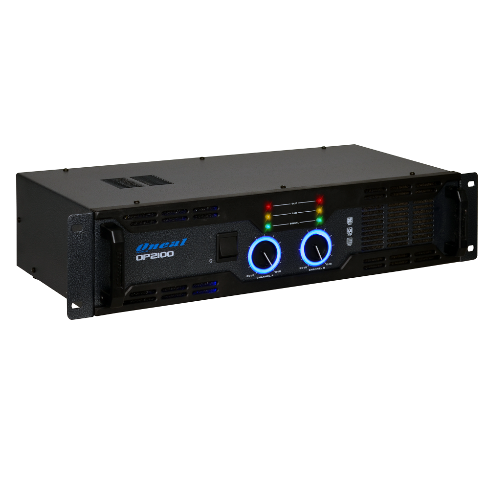 AMPLIFICADOR ONEAL OP-2100 – 290WRMS TOTAL, 145W POR CANAL, 4 OHMS