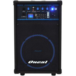 CAIXA AMPLIFICADA ONEAL OCM 290 – 50 WRMS, USB/SD/FM, 8 POLEGADAS