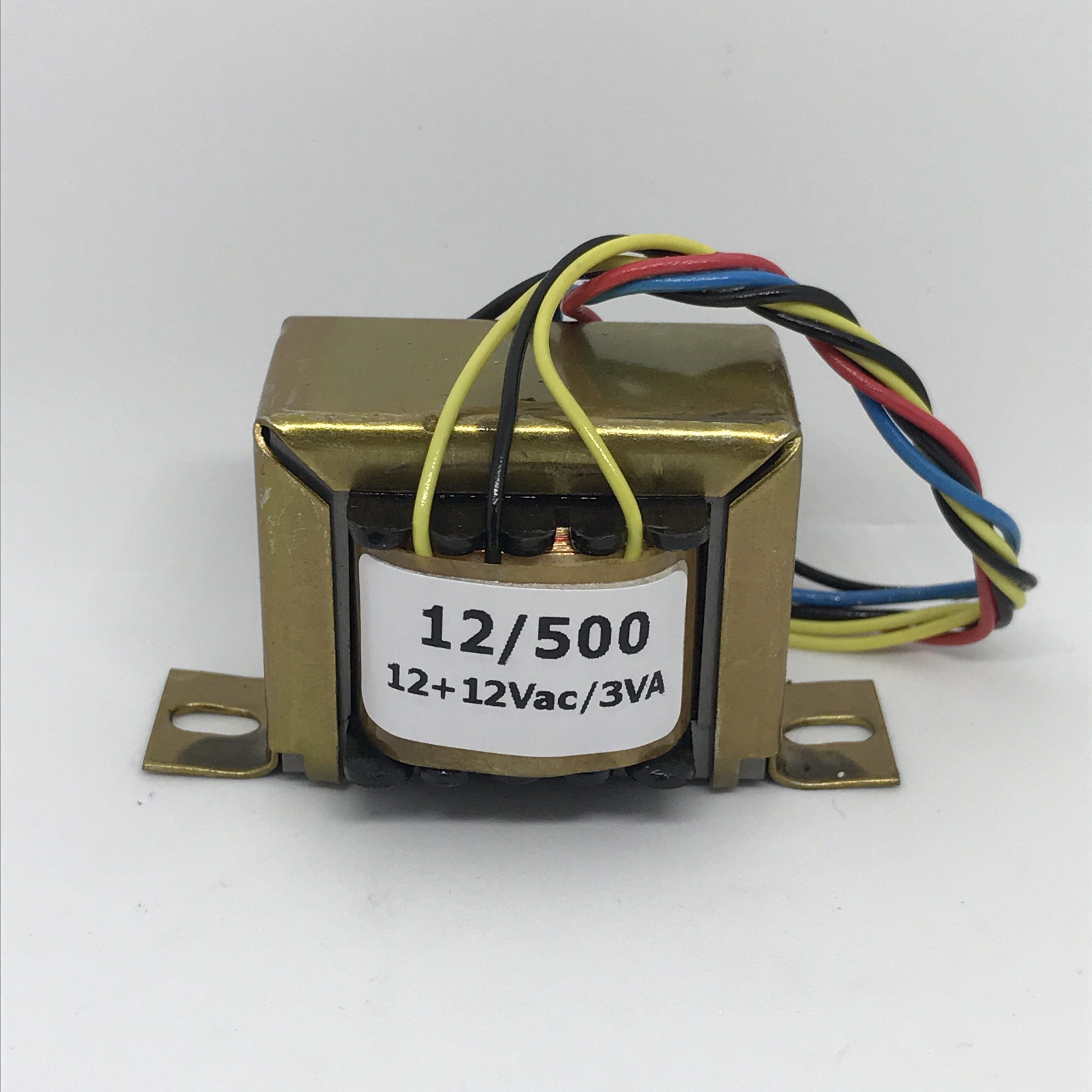 TRANSFORMADOR HAYAMA 12/500 – 12+12V, 500mA, Bivolt