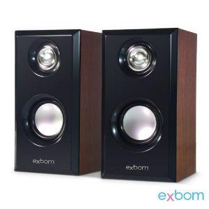 CAIXA DE SOM PC EXBOM CS56 – 6W