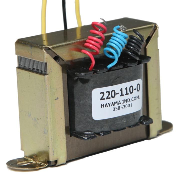 TRANSFORMADOR HAYAMA 9/1 – 9+9V, 1A, Bivolt