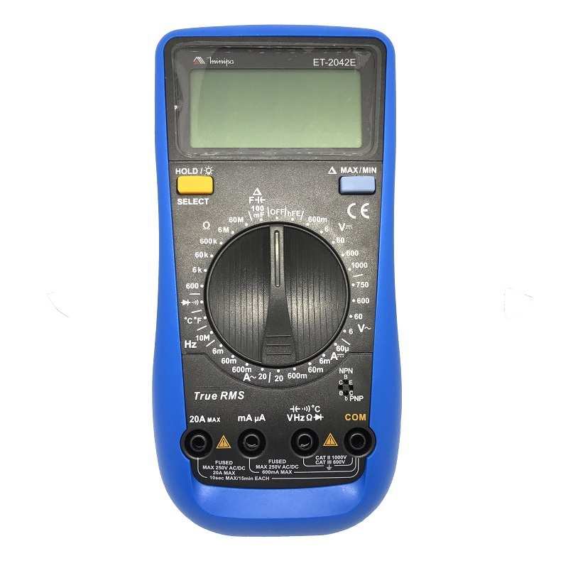 Multímetro Digital Minipa ET-2042E
